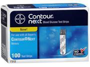Contour Next Blood Glucose Test Strips - 100 strips