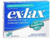 Ex-Lax Pills Maximum Strength - 24 Tablets