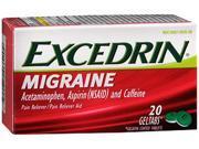 Excedrin Migraine Pain Reliever/Pain Reliever Aid - 20  Geltabs