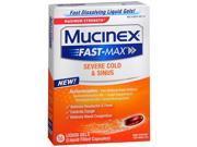 Mucinex Fast-Max Severe Cold & Sinus Liquid Gels - 16 ct