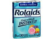 Rolaids Extra Strength Chewable Tablets Assorted Fruit 30 ct