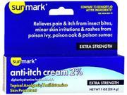 Sunmark Anti-Itch Cream 2% - 1 oz 9SIA63627H7065