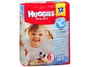 Huggies Snug Dry Diapers Size 6 - 4 Packs of 21 ct
