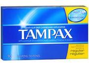 Tampax Tampons Regular - 10 ct