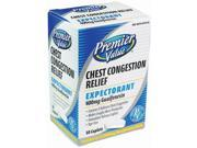 Premier Value Chest Congestion Relief 50ct