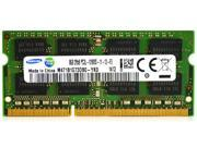 Samsung 8GB PC3L-12800S DDR3L 1.35V 1600 2R*8 Laptop Memory