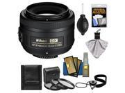 Nikon 35mm f/1.8 G DX AF-S Nikkor Lens with 3 UV/CPL/ND8 Filters + Cleaning Kit