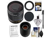 Rokinon 500mm f/8 Mirror Lens & 2x Teleconverter with 67