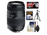 Tamron 70-300mm f/4-5.6 Di LD Macro 1:2 Zoom Lens (for Sony Alpha Cameras) with Tripod + Accessory Kit