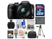 Panasonic Lumix DMC-LZ40 Digital Camera with 32GB Card + Case + Flash + Battery + Tripod + Kit
