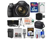 Sony Cyber-Shot DSC-H400 Digital Camera with 32GB Card + Case + Flash + Battery/Charger + Tripod + 3 Filters Kit