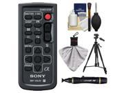 Sony RMT-DSLR2 Wireless Remote Shutter Controller for Sony Alpha Cameras with Tripod + Cleaning & Accessory Kit for A55 A57 A65 A77 A99 NEX-5/5N/5R NEX-6 NEX-7