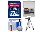 Essentials Bundle for Samsung HMX-F90, Q20, QF20, QF30 HD Camcorder with 32GB Card + Tripod + Accessory Kit