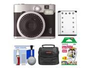 Fujifilm Instax Mini 90 Neo Classic Instant Film Camera with Instant Film + Case + Battery + Cleaning Kit