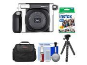 Fujifilm Instax Wide 300 Instant Film Camera with 20 Wide Twin Prints + Case + Flex Tripod + Kit