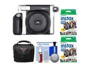 Fujifilm Instax Wide 300 Instant Film Camera with 40 Wide Twin Prints + Case + Kit
