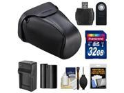 Nikon CF-DC3 Semi-Soft Digital SLR Camera Holster Case for D7000, D7100 & D7200 with 32GB Card + Battery + Charger + Remote + Kit