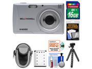 Bell & Howell S40HDZ Digital Camera (Silver) with 16GB Card + Battery + Case + Flex Tripod + Kit
