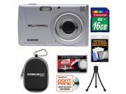 Bell & Howell S40HDZ Digital Camera (Silver) with 16GB Card + Case + Kit