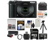 Nikon 1 J5 Wi-Fi Digital Camera & 10-30mm Lens (Black) with 32GB Card + Battery + Strap + Case + Flex Tripod + HDMI Cable + Kit