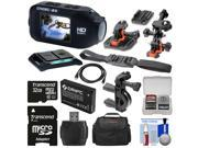 Drift Innovation HD Ghost-S Wi-Fi Waterproof Digital Video Action Camera Camcorder with 32GB Card + 2 Helmet, Flat Surface & Bike Handlebar Mounts + Battery + Case + Kit
