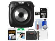 Fujifilm Instax Square SQ10 Hybrid Instant Film & Digital Camera with 32GB Card + 10 Color Prints + Case + Battery + Kit