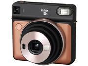 Fujifilm - 16581460 - Fujifilm Instax SQUARE SQ6 Instant Camera - Instant Film - Blush Gold