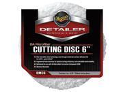 Meguiar's DMC6 Dual Action Microfiber Cutting Discs