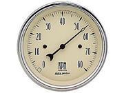 Auto Meter 1890 Antique Beige Electric Tachometer