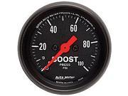 Auto Meter Z-Series Mechanical Boost Gauge