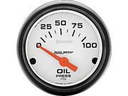 Auto Meter Phantom Electric Oil Pressure Gauge
