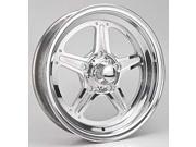 Billet Specialties RS035356517N Street Lite Wheel Size: 15'' x 3.5'' Rear Spacin