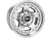 American Racing 235885 AR-23 Wheel Size: 15'' x 8'' Bolt Circle: 5 x 5-1/2'' Off