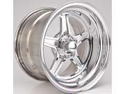 Billet Specialties RS035106555N Street Lite Wheel Size: 15'' x 10'' Rear Spacing