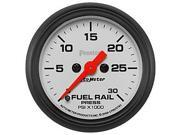 Auto Meter Phantom Fuel Rail Pressure Gauge