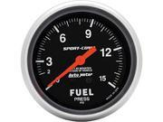 Auto Meter Sport-Comp Mechanical Fuel Pressure Gauge