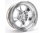 American Racing 550-7873 Polished Hopster Wheel Size: 17 x 8'' Bolt Circle: 5 x