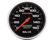 Auto Meter 5189 Pro-Comp In-Dash Speedometer