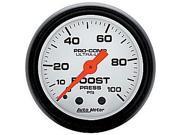 Auto Meter Phantom Mechanical Boost Gauge