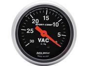 Auto Meter Sport-Comp Mechanical Vacuum Gauge