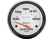 Auto Meter Phantom Electric Water Temperature Gauge