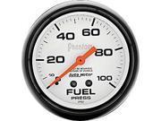 Auto Meter Phantom Mechanical Fuel Pressure Gauge