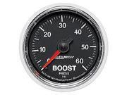 Auto Meter GS Mechanical Boost Gauge