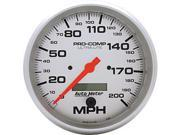 AutoMeter 4490 Ultra-Lite In-Dash Electric Speedometer