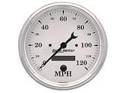 Auto Meter 1689 Old Tyme White; Electric Programmable Speedometer