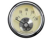 Auto Meter 2037 Antique Ivory Water Temperature Gauge