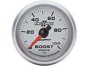 Auto Meter Ultra-Lite II Mechanical Boost Gauge