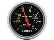 Auto Meter Sport-Comp Mechanical Boost/Vacuum Gauge