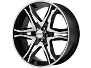 American Racing 89378068325 AR893 Mainline Gloss Black Wheel Size: 17'' x 8'' Bo