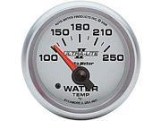 Auto Meter Ultra-Lite II Electric Water Temperature Gauge